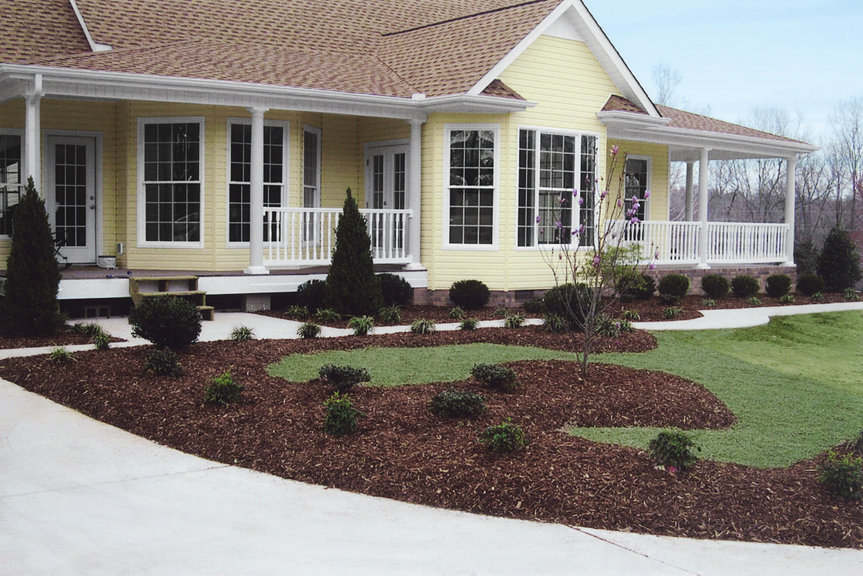 Completed landscape design & installation project
